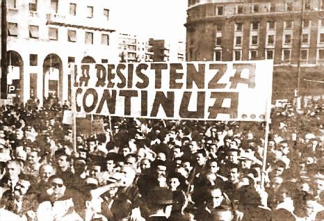 La resistenza Continua!